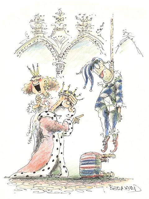 Kongen og hofnaren hænger sig