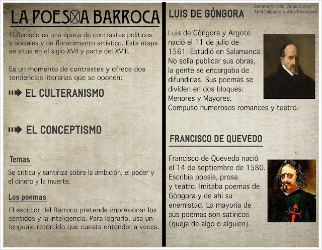 Góngora y Quevedo: Lírica Barroca