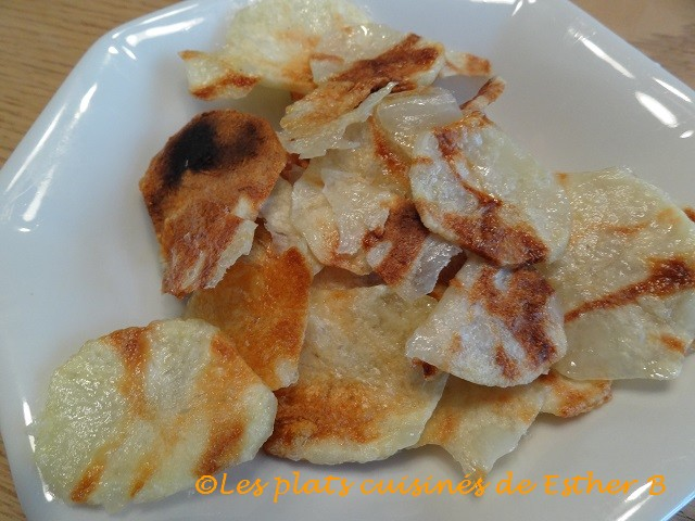 Chips au micro ondes recette for Chips betterave micro onde
