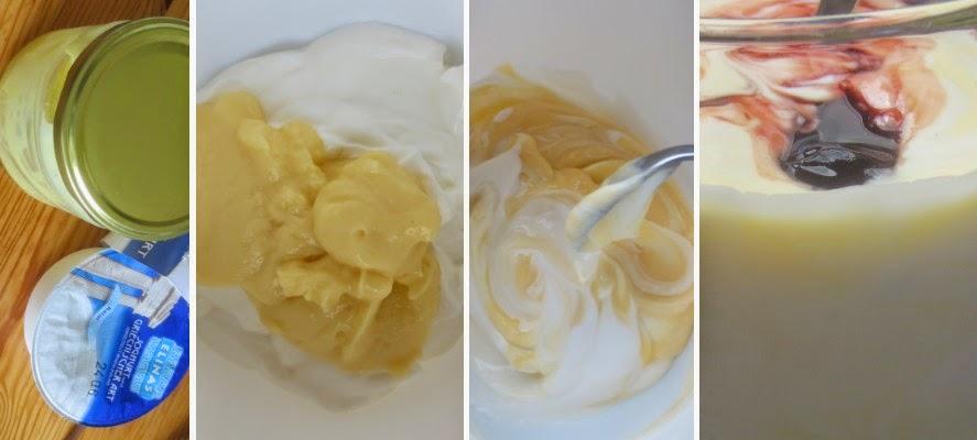 Zubereitung Lemon curd & yogurt fool