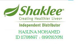 I'm Shaklee Distributor
