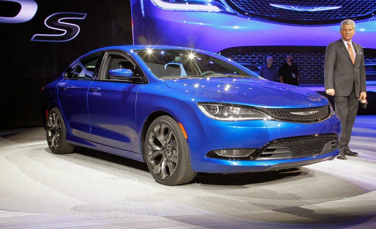 2015 Chrysler 200 - Stylish and comfortable design