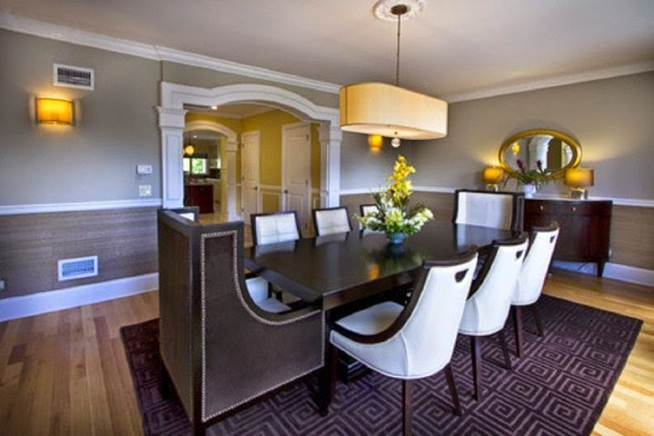 Wall paint ideas for dining room for Dining room paint ideas