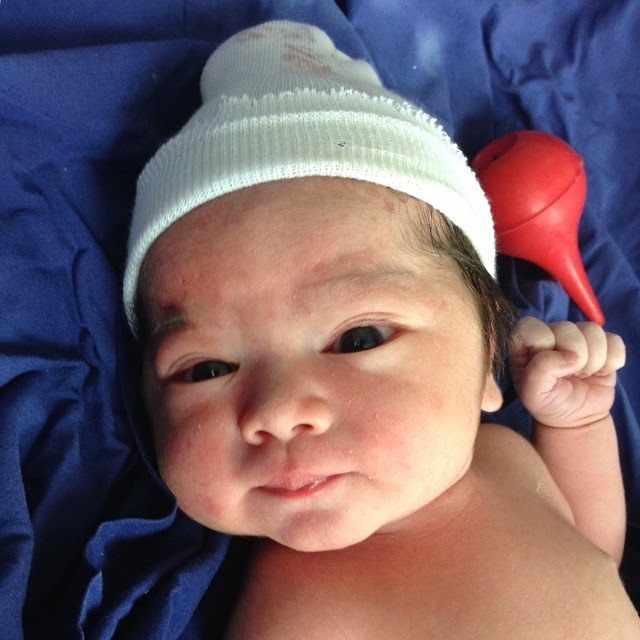 Kristine Hermosa gives birth to Kaleb Hanns Sotto