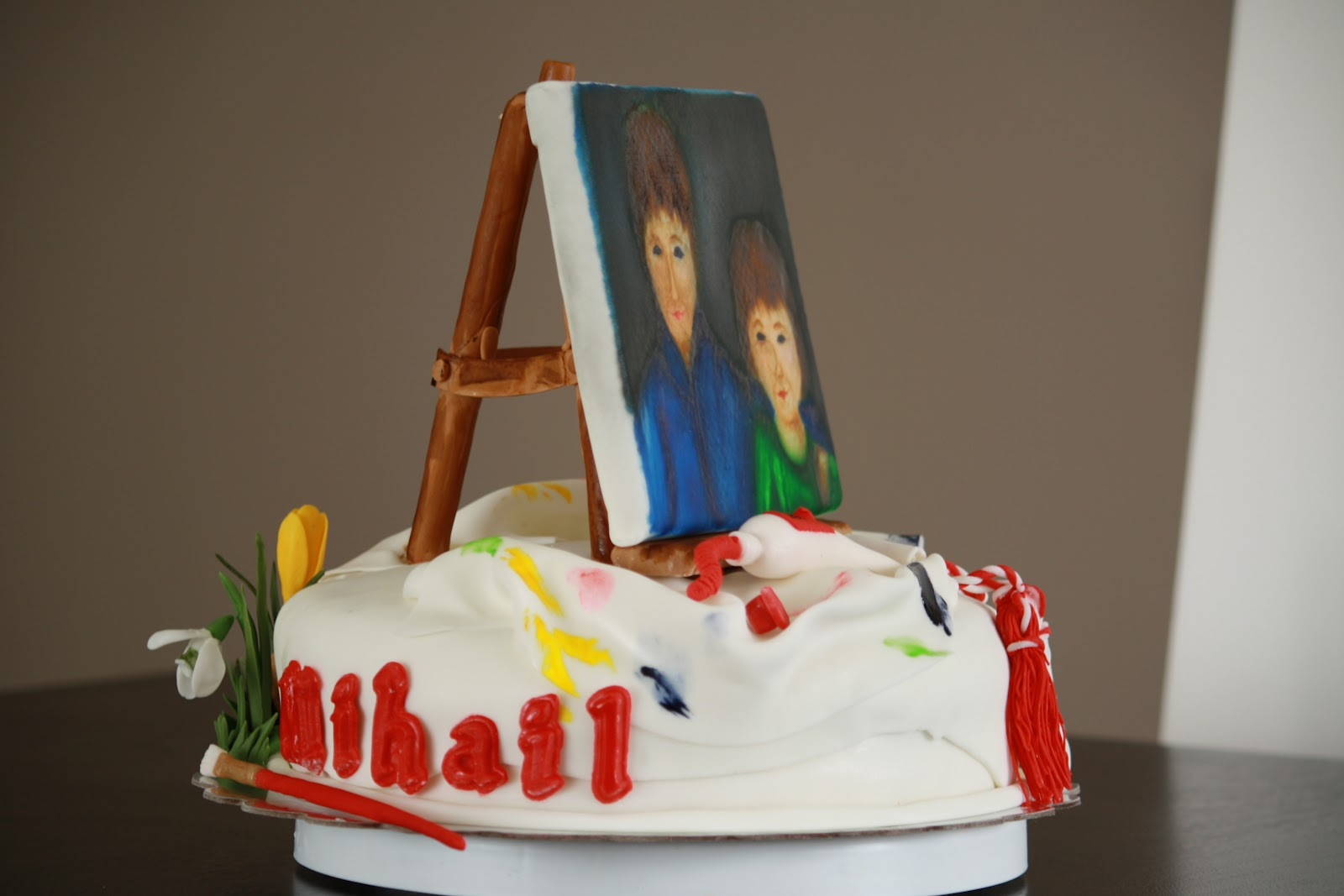 Beautilicious Sweets: Little Artist Birthday Cake