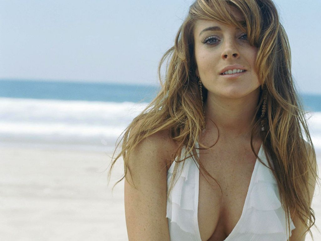 Top Actress Gallery  Lindsay Lohan Wallpaper