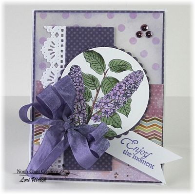 Stamps - North Coast Creations Floral Sentiments 4, ODBD Custom Beautiful Borders Dies