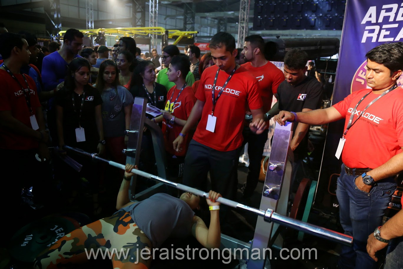 Strongman Bench Press Part - 19: Jerai Strongman Bench Press Jerai Strongman