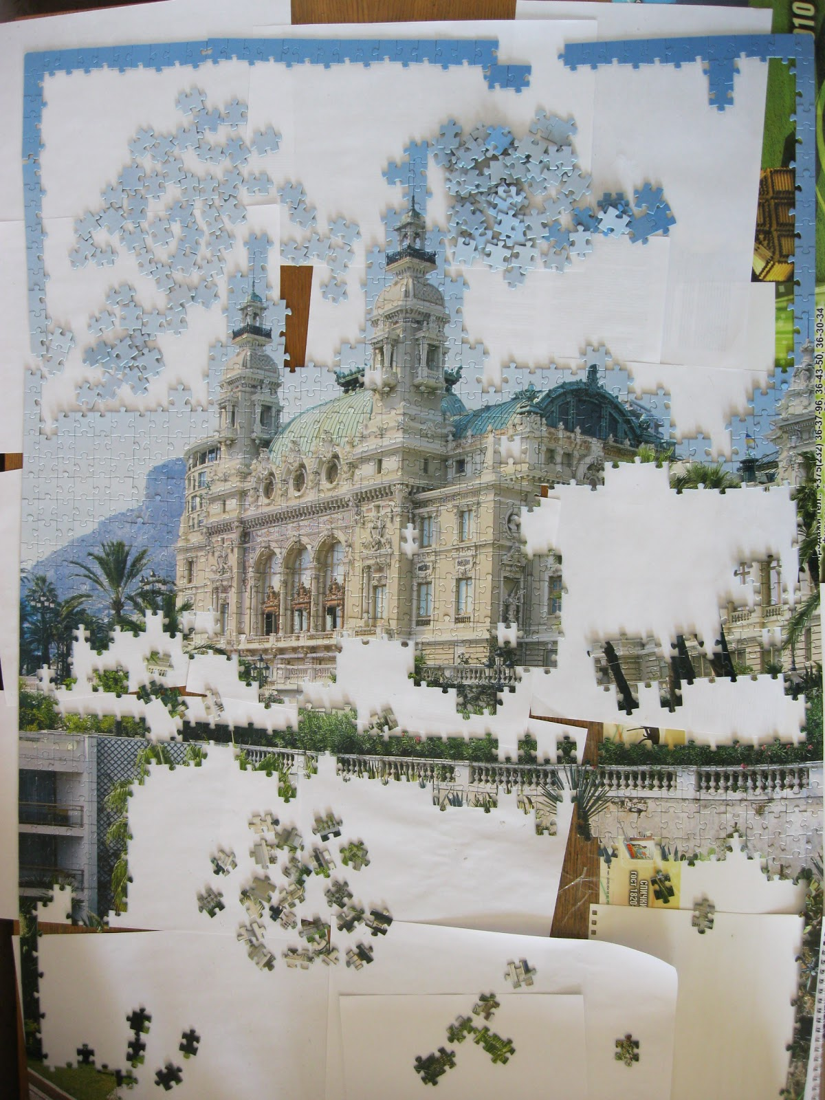 Как сделать картину из пазлов в рамку - популярные записи - 7я.ру 27