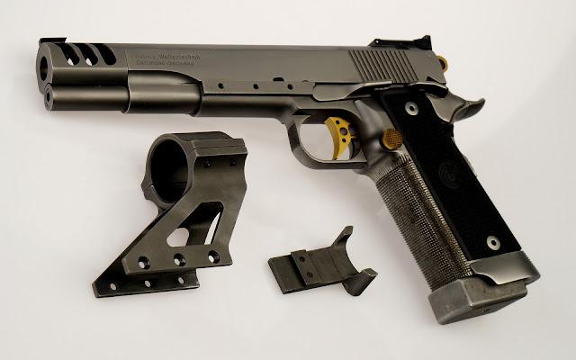 Pistola Colt Modificada