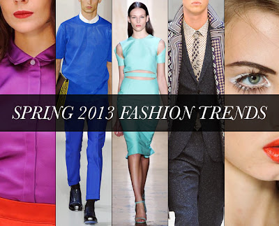 Latest Spring Fashions,2013 fashion, 2013 fashion wear, 2013 summer fashion, 2013 Summer/Spring trends, lastest fashion in 2013