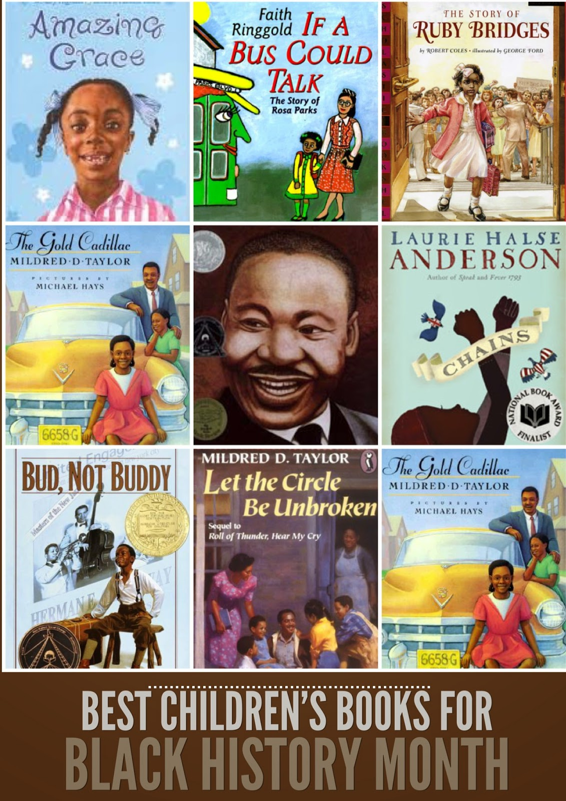 Black History Month is almost over . . . have you taken the time to talk with your kids about it? Books are such an easy way to introduce the conversation. I've rounded up a great list of books for kids of all ages that explore race and history in the United States in age-appropriate ways.