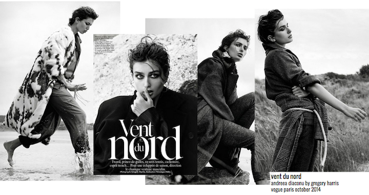 andreea diaconu by gregory harris for vogue paris october 2014