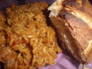 arroz con almendras