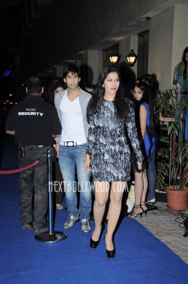 Sophie Chaudhary - Sophie Chaudhary with Siddharth Mallya at Artic Vodka Launch