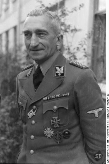 SS-Gruppenführer Arthur Nebe Einsatzgruppen Nazi exterminators