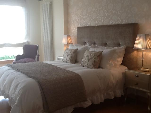 El blog de decoracion de laura ashley tu casa laura - Dormitorios con cabeceros tapizados ...