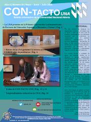 Boletín Institucional Con-Tacto UNA N°. 14 Marzo - Abril