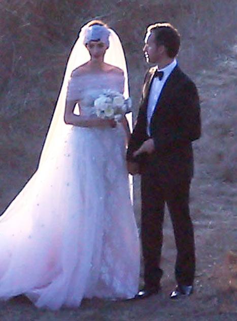 Casamento Anne Hathaway