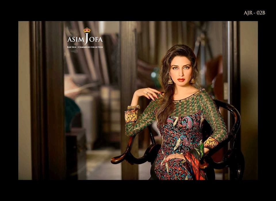 AsimJofaWinterCollection2014 wwwfashionhuntworldblogspotcom 004 - Asim Jofa Winter Collection 2014