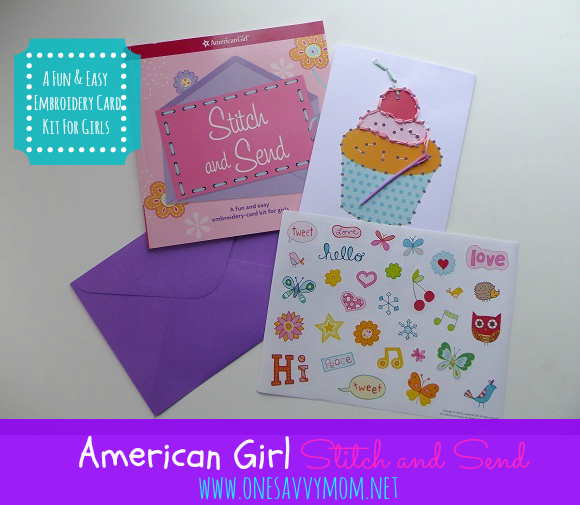 One savvy mom nyc area mom blog american girl stitch for American girl craft kit