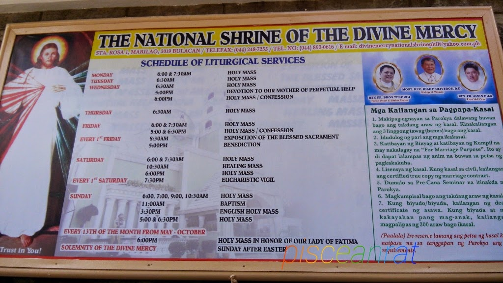 how to get to, divine mercy, healing mass, schedule, blogger, bulacan, pisceanrat,