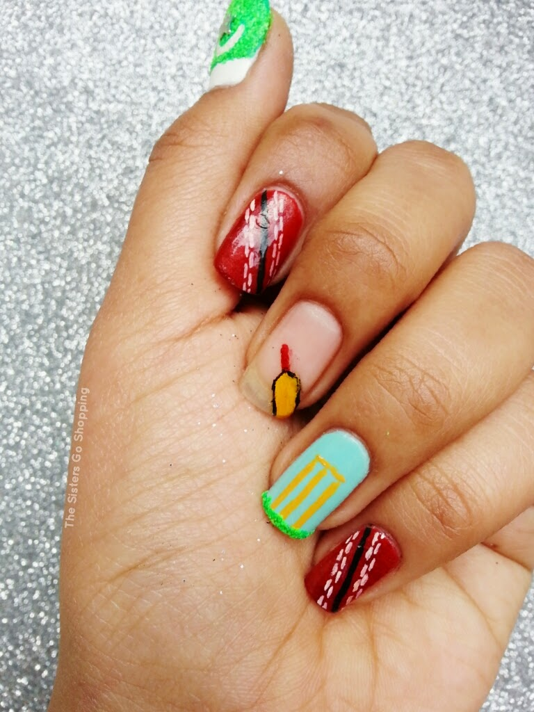 Notd Cricket World Cup Nails The Sisters Go Shopping