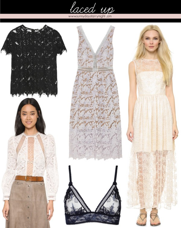 fall fashion trend lace