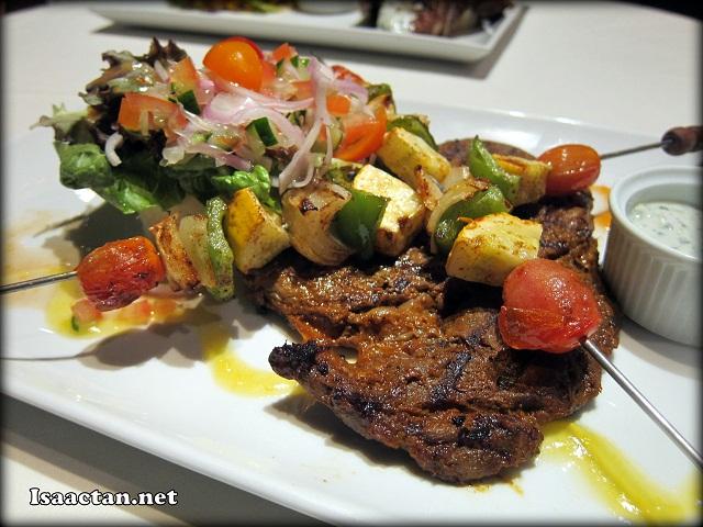 Tangier Moroccan Steak - RM42