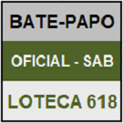 LOTECA 618 - MINI BATE-PAPO OFICIAL DO SÁBADO