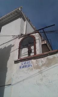 Hornacina del barrio del Cristo de Calatayud