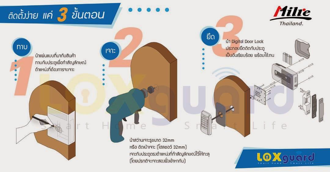 เปลี่ยนกุญแจธรรมดาเป็น Digital Door Lock ง่าย ๆ แค่ 3 ขั้นตอน