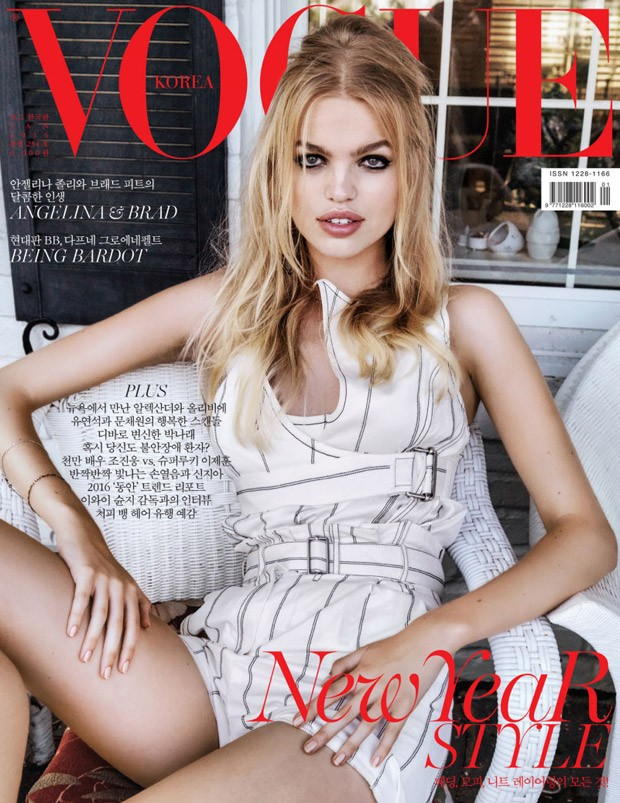 Daphne Groenveld in Vogue Korea