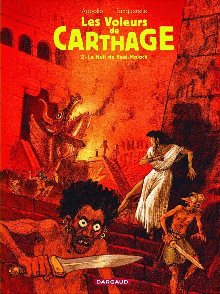 Les Voleurs de Carthage. La nuit de Baal Moloch.