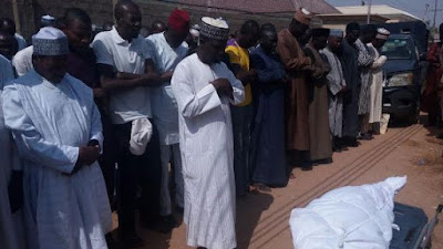 NFF's Head of Protocol, Ibrahim Abubakar Who Was Killed By Robbers Laid To Rest. Photos
