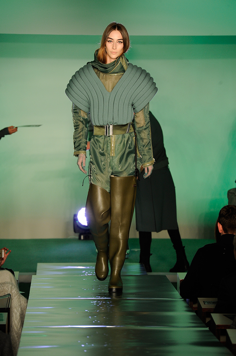 5 worst looks of paris fashion week, jean paul gaultier fw14 rtw