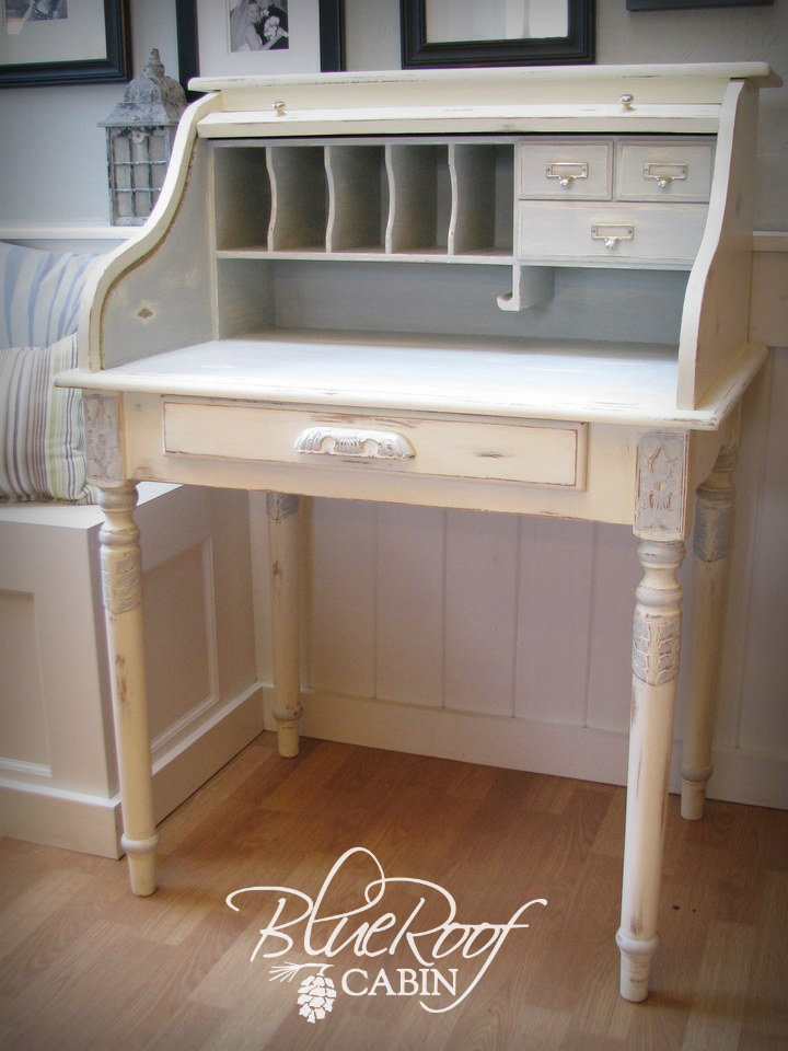 Exceptional Roll Top Desk Makeover. Or Another Title For This Post Would Be  Nice Design