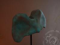 Handmade lamp vertebra atlas