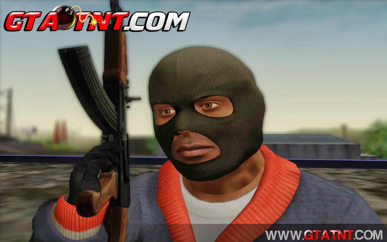 GTA SA - Skin Franklin GTA V V4