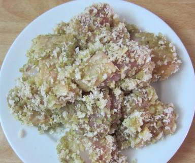 Cách làm món Thịt gà chiên cốm ngon