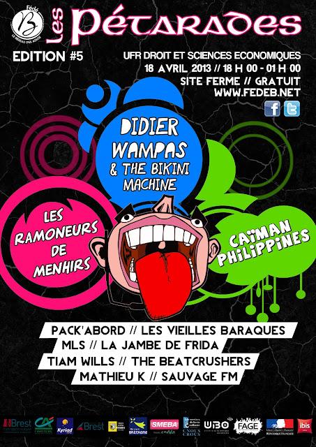 Festival Les Pétarades 2013 - Brest - Fédé B - 18 avril 2013