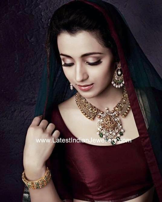 trisha NAC jewellers ad