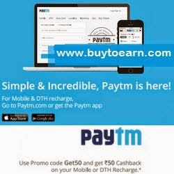 PayTM Recharge offer :  Recharge & Bill Payment Rs.70 Cashback on Rs.500