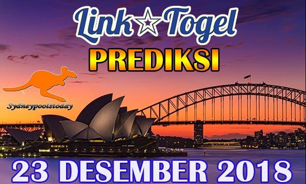 Prediksi Togel Sydney 23 Desember 2018