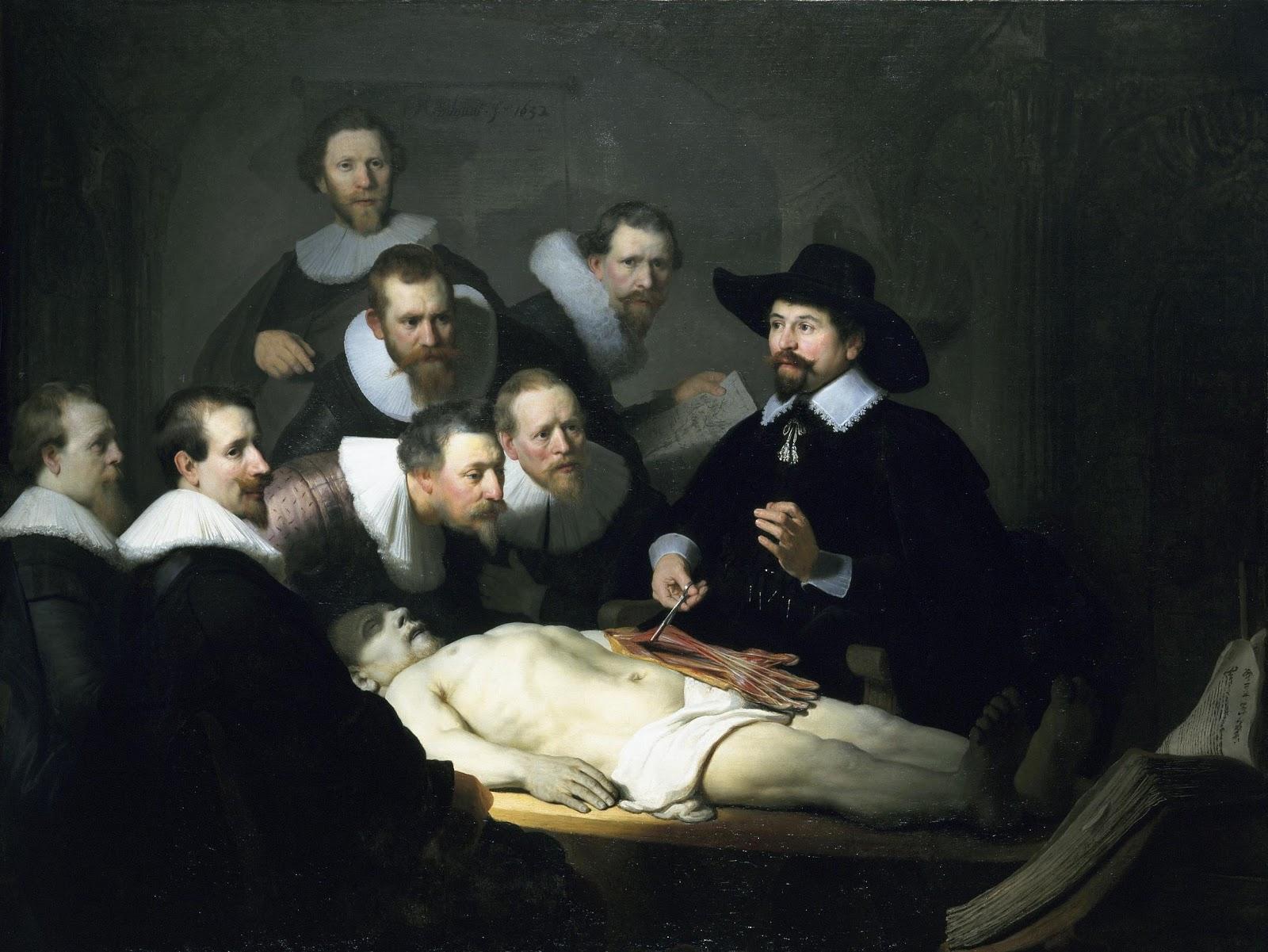 Grandes Iconos Universales XII: La Lección de anatomía del Dr ...