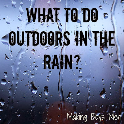 What to do outdoors in the rain