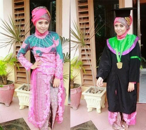 45+ Model Kebaya Wisuda Muslim Modern Terbaru 2018