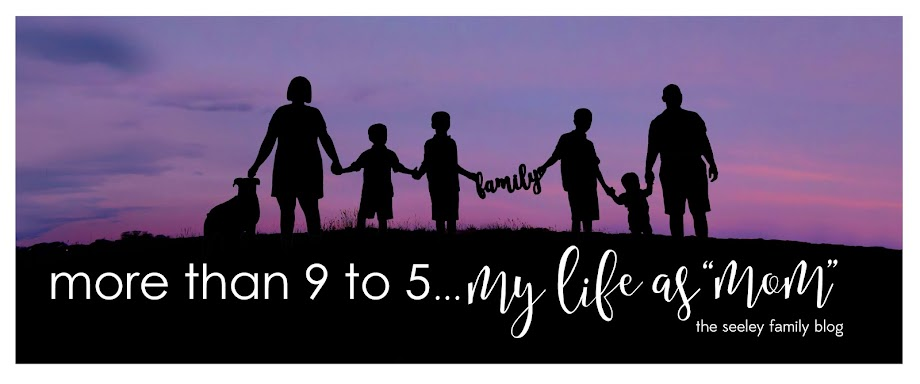 "more than 9 to 5...my life as ""Mom"""
