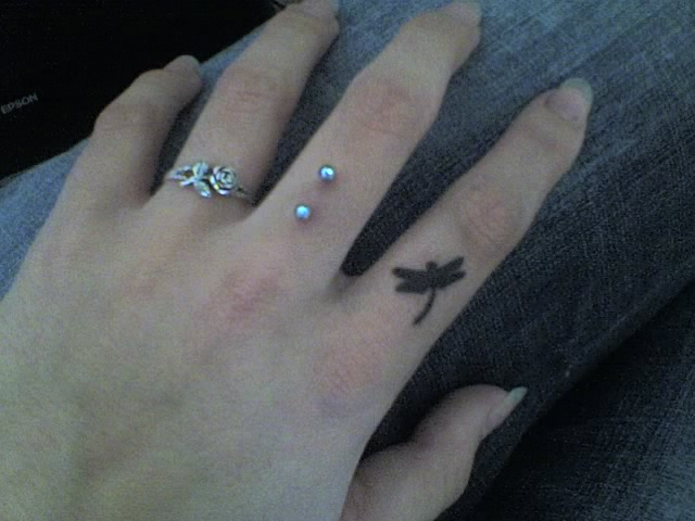 finger surface piercings