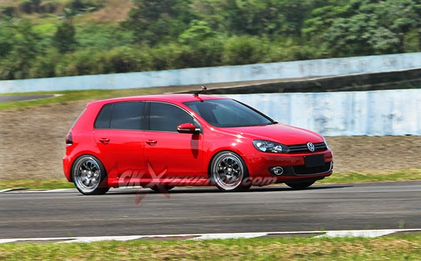 track modifikasi vw golf